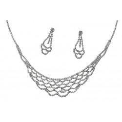 Komplet biżuterii dżetowy - MF2066-1
