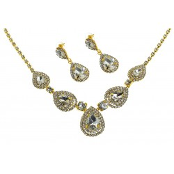 Komplet biżuterii dżetowy - MF2067-1