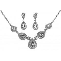 Komplet biżuterii dżetowy - MF2067-2