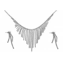 Komplet biżuterii dżetowy - MF2068-1