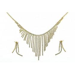 Komplet biżuterii dżetowy - MF2068-2