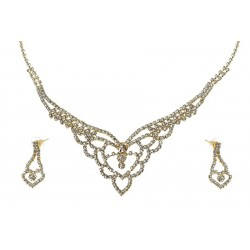 Komplet biżuterii dżetowy - MF0445C-1