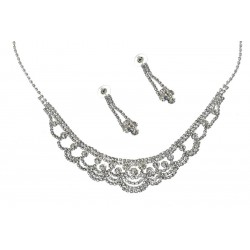 Komplet biżuterii dżetowy - MF0446C