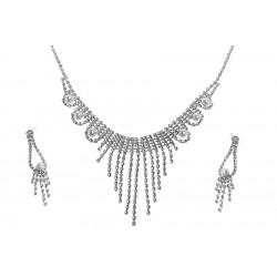 Komplet biżuterii dżetowy - MF0448A-1