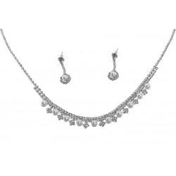 Komplet biżuterii dżetowy - MF0448B-1