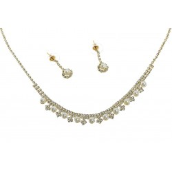 Komplet biżuterii dżetowy - MF0448B-2