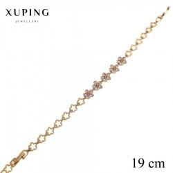 Bransoletka pozłacana 18k - Xuping - MF2484