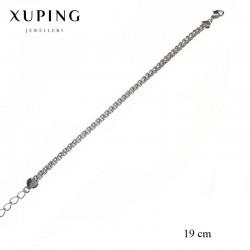 Bransoletka pozłacana 18k - Xuping - MF1247-2