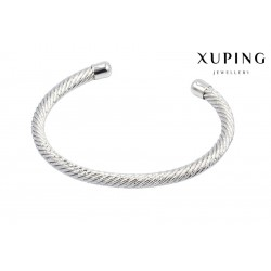 Bransoletka rodowana 18k - Xuping - FM8431
