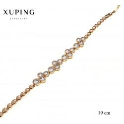 Bransoletka pozłacana 18k - Xuping - MF2311-1