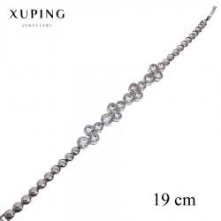 Bransoletka rodowana - Xuping - MF2311-2