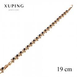 Bransoletka pozłacana 18k - Xuping - MF2596-1