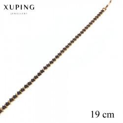 Bransoletka pozłacana 18k - Xuping - MF2761-1