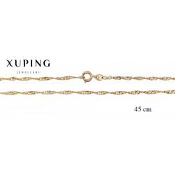Łańcuszek pozłacany 18k Xuping - MF2762