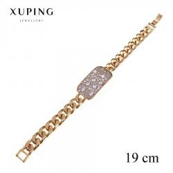 Bransoletka pozłacana 18k - Xuping - MF2769-1