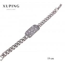 Bransoletka rodowana - Xuping - MF2769-2